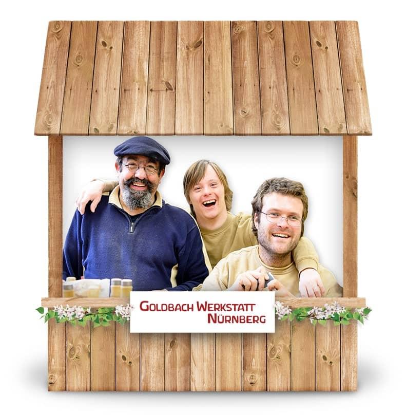 Alternativer Frühlingsmarkt Nürnberg und virtueller Online-Frühlingsmarkt Goldbach Werkstatt Nürnberg bei Werky Behindertenwerkstatt kaufen