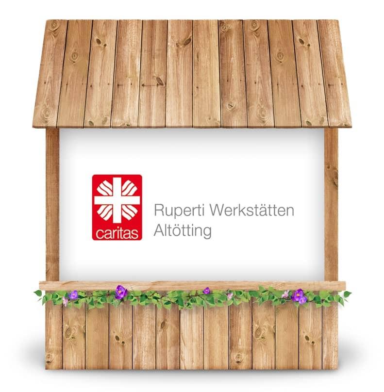 Alternativer Frühlingsmarkt Altötting und virtueller Online-Frühlingsmarkt von Ruperti Werkstätten bei Werky Behindertenwerkstatt kaufen