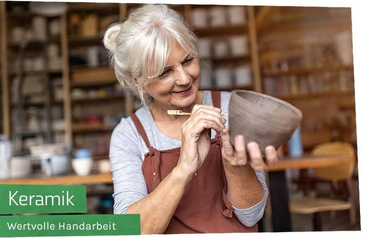 Grosse Auswahl handgemachte Keramik aus Behindertenwerkstätten (WfbM) online kaufen bei Werky
