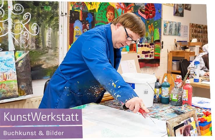 Kunst Einzelstücke aus Behindertenwerkstatt kaufen bei Werky