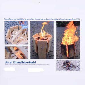 Einmal Feuerkorb (wie Schwedenfeuer)-Lebenshilfe Celle gGmbH-werky