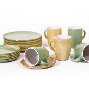 Gedeck aus Keramik, 6er Set-Greifenwerkstatt-werky
