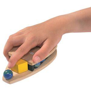 Murmelmaus zum Murmeln schießen Spiel für Kinder | NASEWEISS-Samariterstiftung | Ostalb-Werkstätten-werky