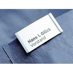 Namensschild mit Magnethalterung | Luno-werky