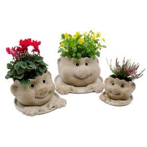 Blumentopf Wichtel-Ruperti Werkstätten-werky