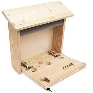 Briefkasten aus Holz, handgemacht massiv, Holzbriefkasten-Ruperti Werkstätten-werky