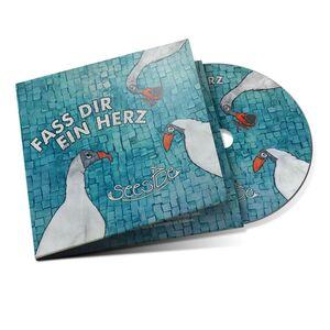 """CD-Album """"FASS DIR EIN HERZ"""" der Band SEESIDE-Greifenwerkstatt-werky"""