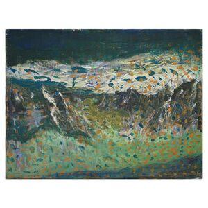 """Acryl-Malerei auf Leinwand """"Spieglein, Spieglein"""", Unikat, 35 x 45 cm-Greifenwerkstatt-werky"""