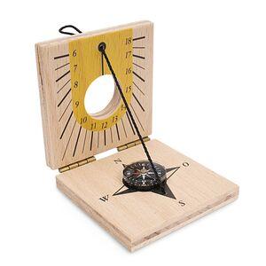 Sonnenuhr mit Kompass für Kinder | NASEWEISS-Samariterstiftung | Ostalb-Werkstätten-werky