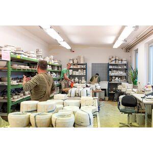 Teelicht-Leuchtturm aus Keramik-Greifenwerkstatt-werky