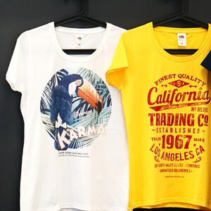 Individuell bedrucktes T-Shirt in Ihrer Lieblingsfarbe-Greifenwerkstatt-werky
